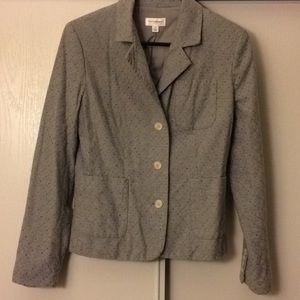 Isaac Mizrahi Jackets & Coats - Isaac Mizrahi Gray Blazer